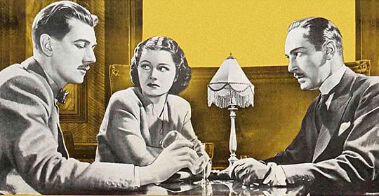 Ob Iris und Gilbert gefahrlos ihren Drink genießen können - oder spielt Dr. Hartz (rechts) falsch?