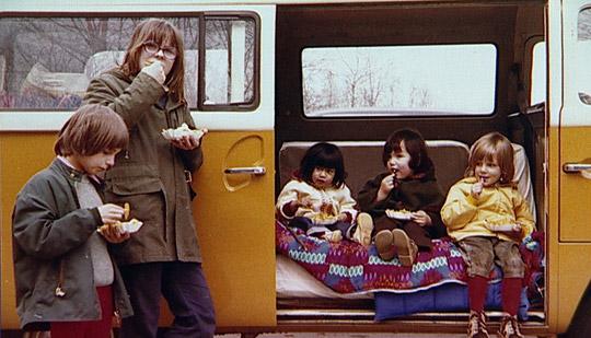 Richard David Precht mit Pommes in Dänemark (Foto aus seiner Jugend)