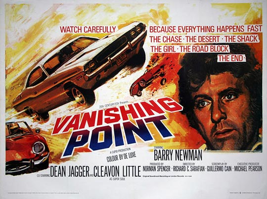Vanishing Point Filmplakat zur Rezension