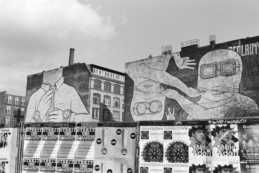 Street Art an der Schlesischen Straße