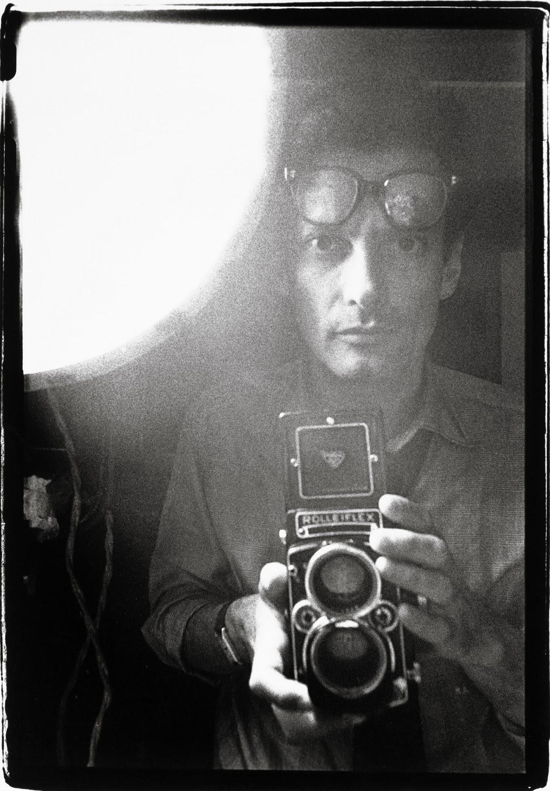 Richard Avedon, Selbstporträt 1963