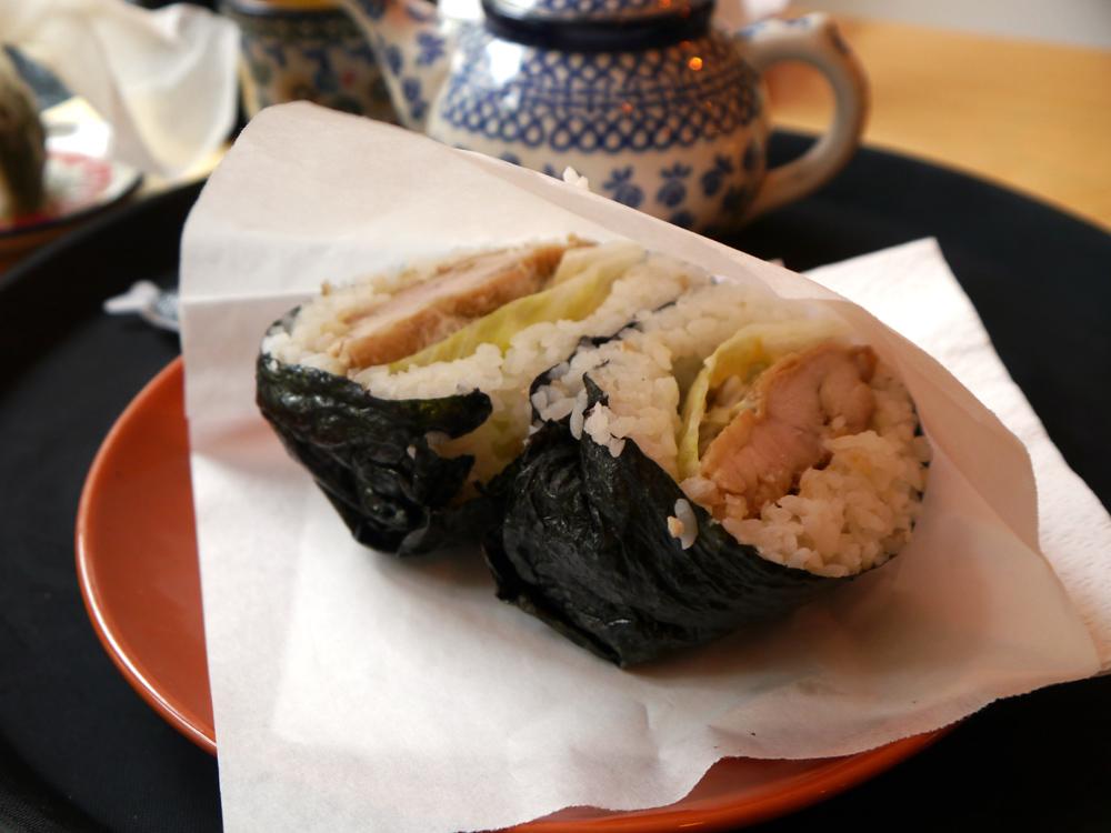 Japanische Bäckerei Kame - Onigirazu