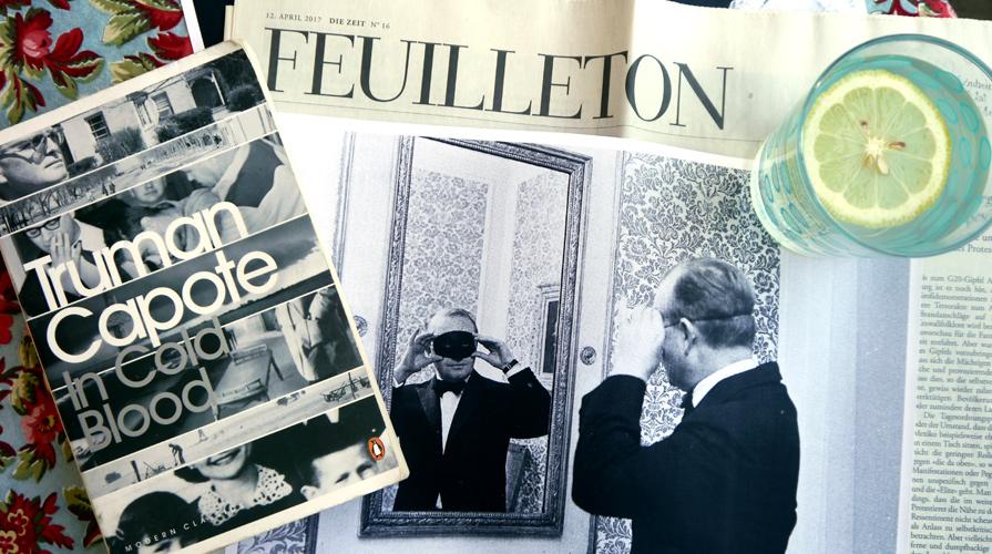Literatur und Alkohol - Truman Capote