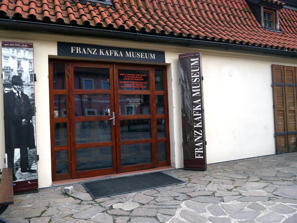 Kafka in Prag: Kafka-Museum