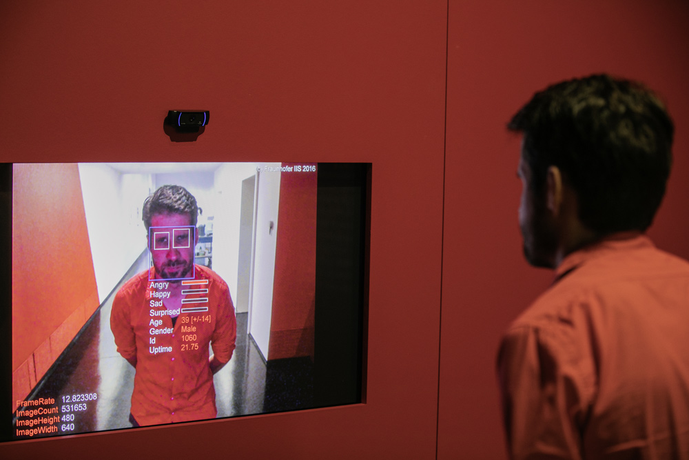 Elektronische Gesichtserkennung. Foto: Oliver Killig / DHMD
