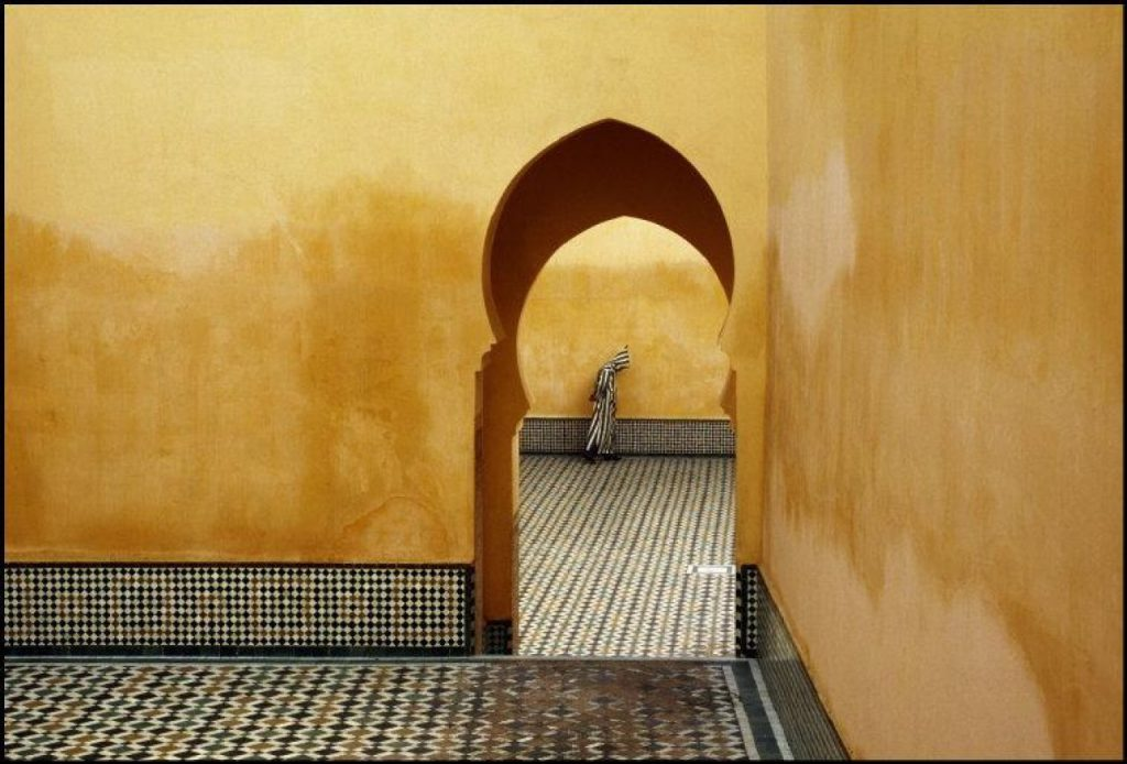 © Bruno Barbey / Magnum Photos, Moulay Ismael Mausoleum, Marokko 1985