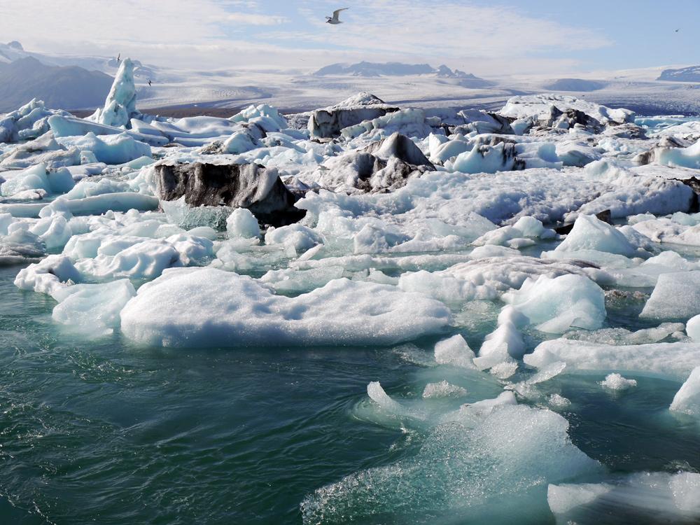 """Das ist """"Iceland"""", der Gletschersee Jökulsárlón"""