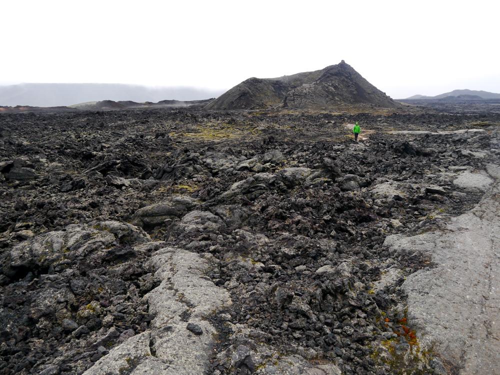 Vulkanische Gesteinslandschaften nahe des Myvatn