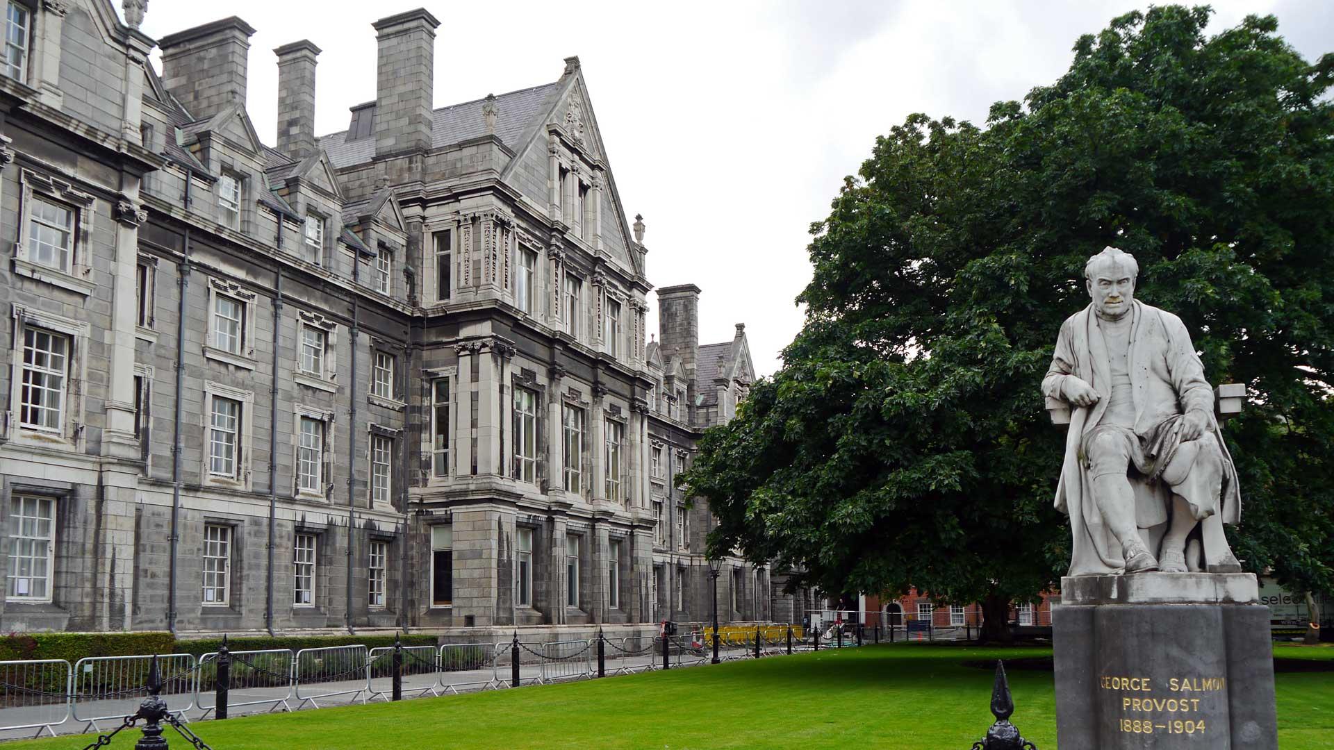 Das Trinity College in Dublin, in dem Oscar Wilde einst studierte.