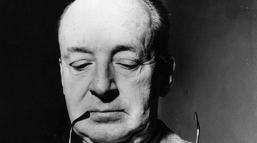 Der russisch-amerikanische Schriftsteller Vladimir Nabokov