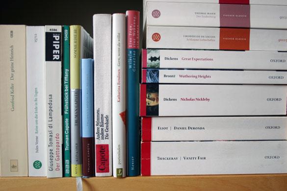 Bücher sortieren - nach Verlag