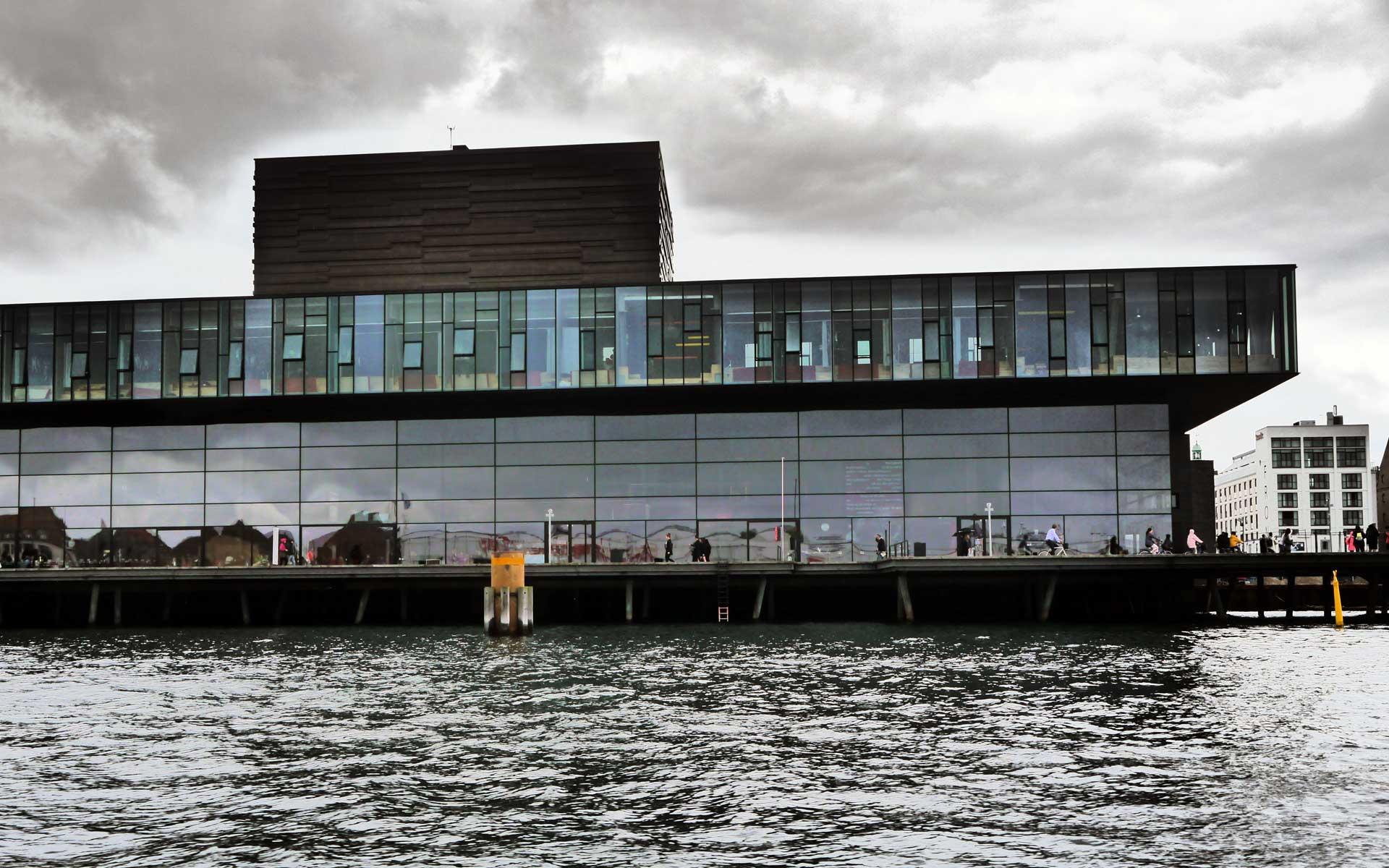 In Kopenhagen lässt sich innovative Architektur bestaunen.