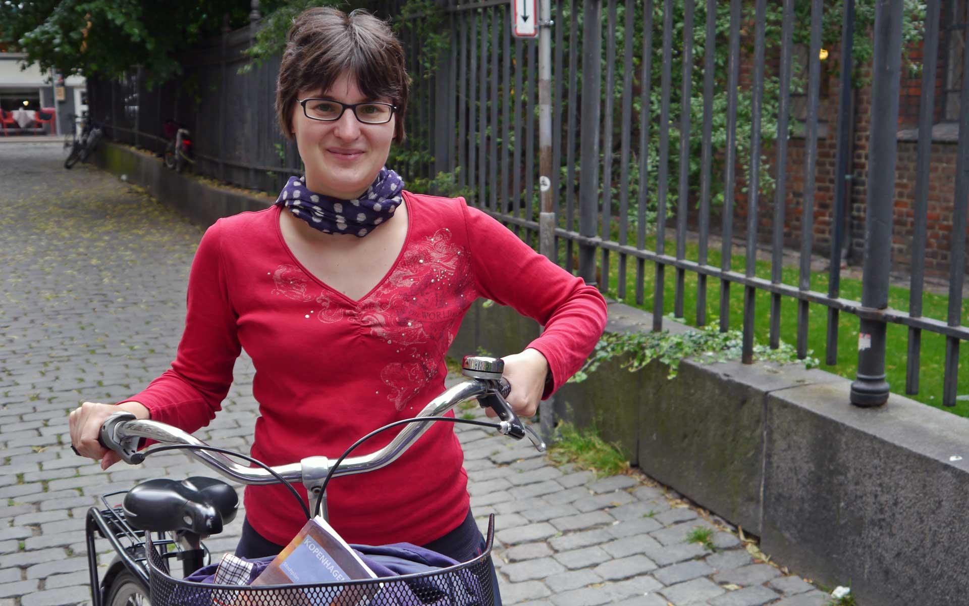 Radfahren macht in Kopenhagen richtig Spaß.