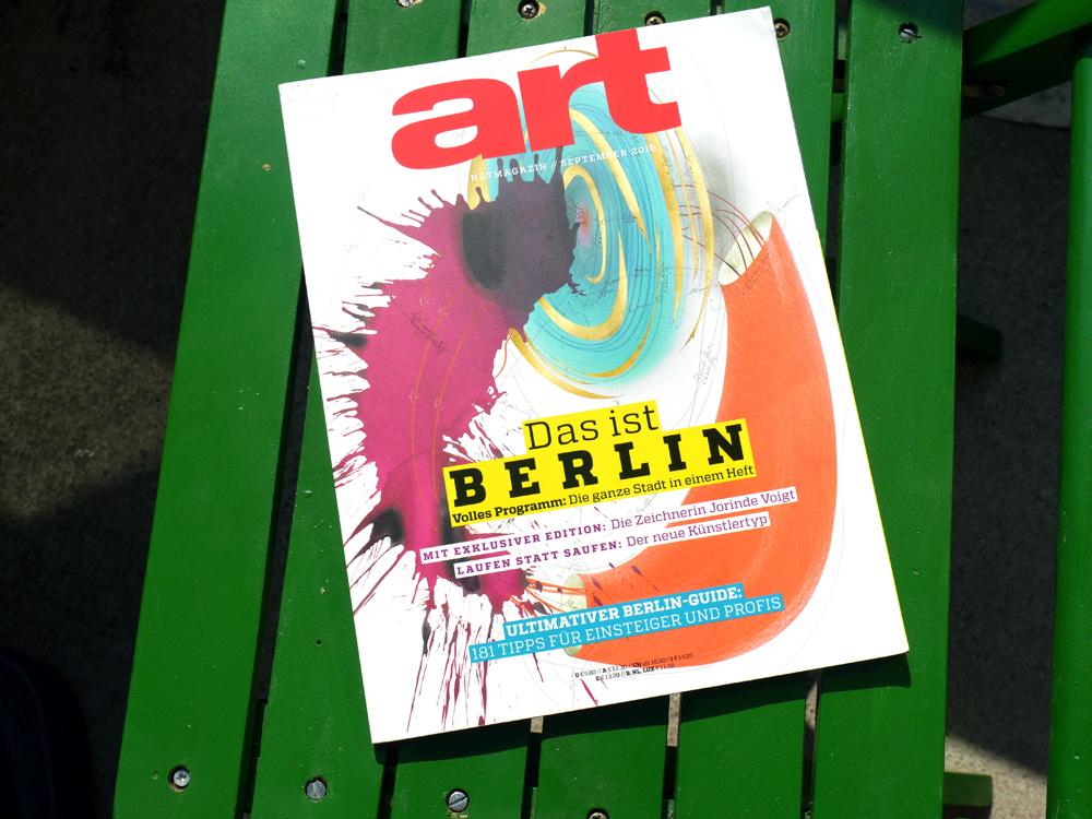 art - September-Ausgabe - Das ist Berlin