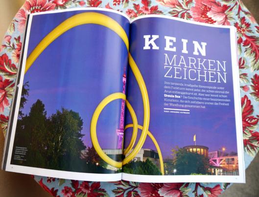 Ursula Sax - art Magazin