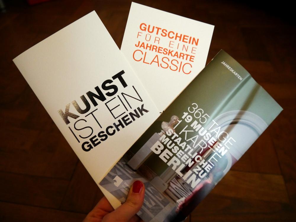 Last-Minute-Geschenkideen: Jahreskarte für die Staatlichen Museen Berlin