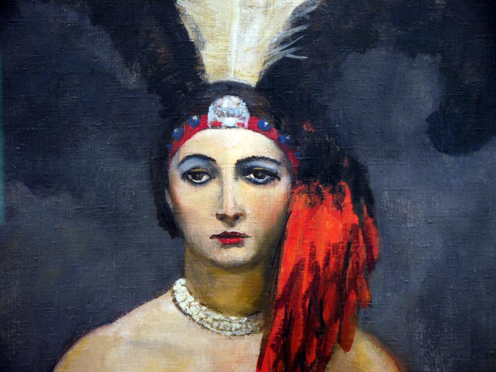Walt Kuhn: Federn, 1931