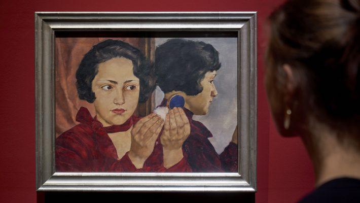 """Ausstellungansichten """"Lotte Laserstein. Von Angesicht zu Angesicht"""" Städel Museum (© Städeö Museum Frankfurt am Main)"""