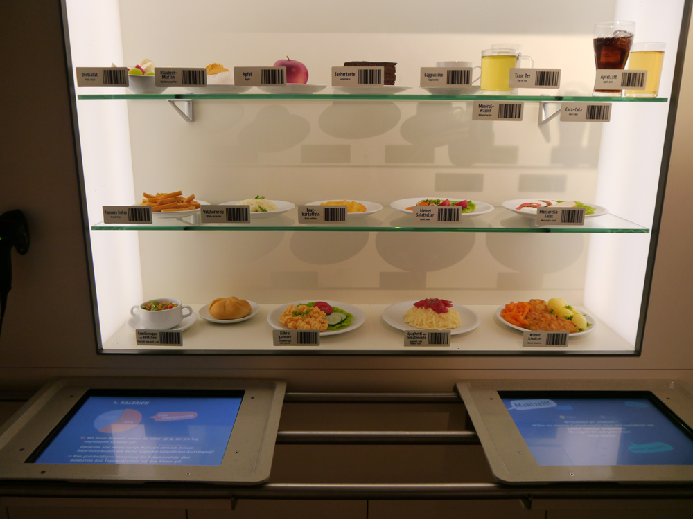 Kantinen-Essen zum Selberscannen: Wie viele Kalorien enthält eigentlich ein Mittagsessen?