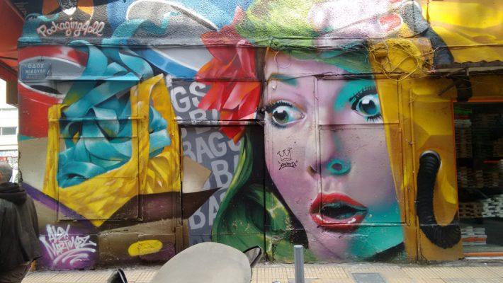 Street Art in Athen: Die schönsten Spots