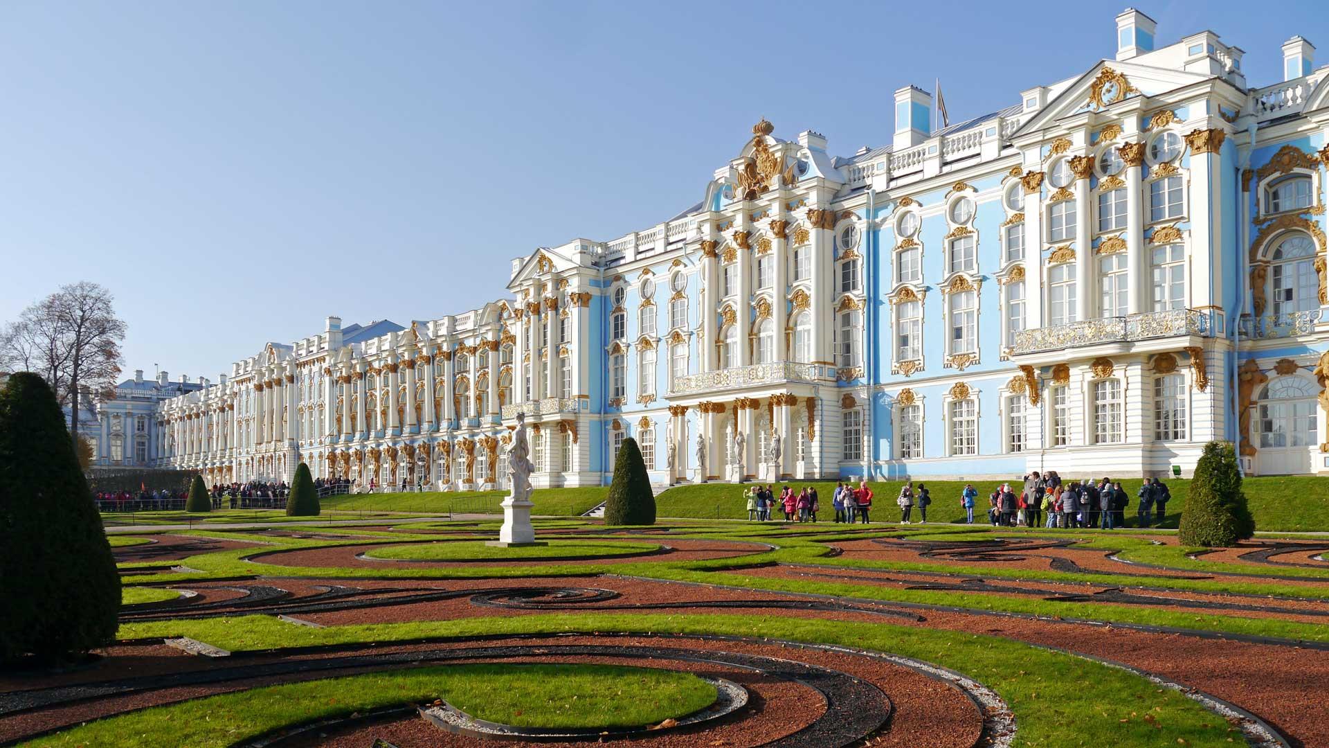 Der prachtvolle Sommersitz der Zaren: Der Katharinenpalast