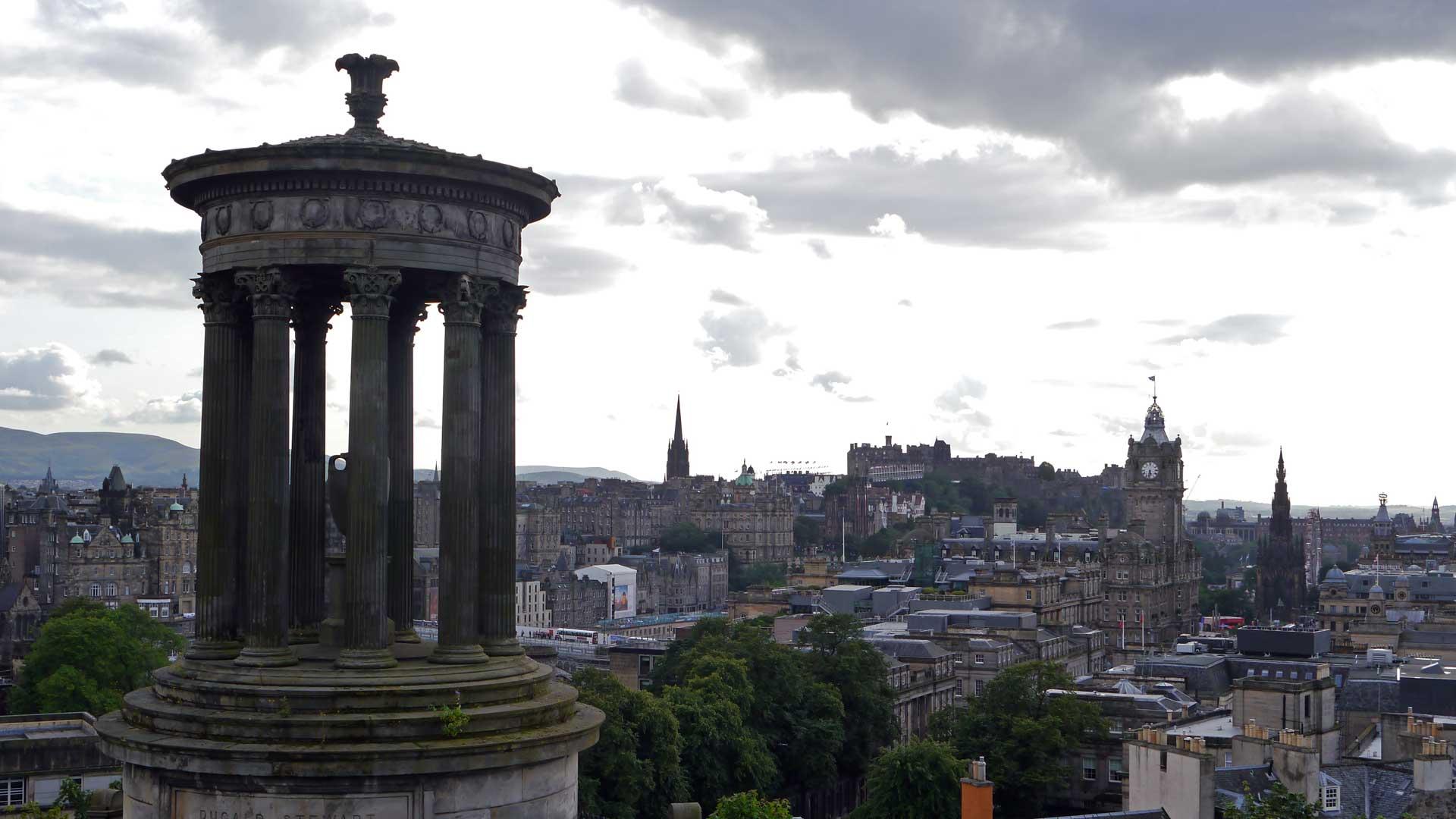 Im Sommer hat Kultur Hochsaison in Edinburgh. (Foto: Sommerdiebe.de)