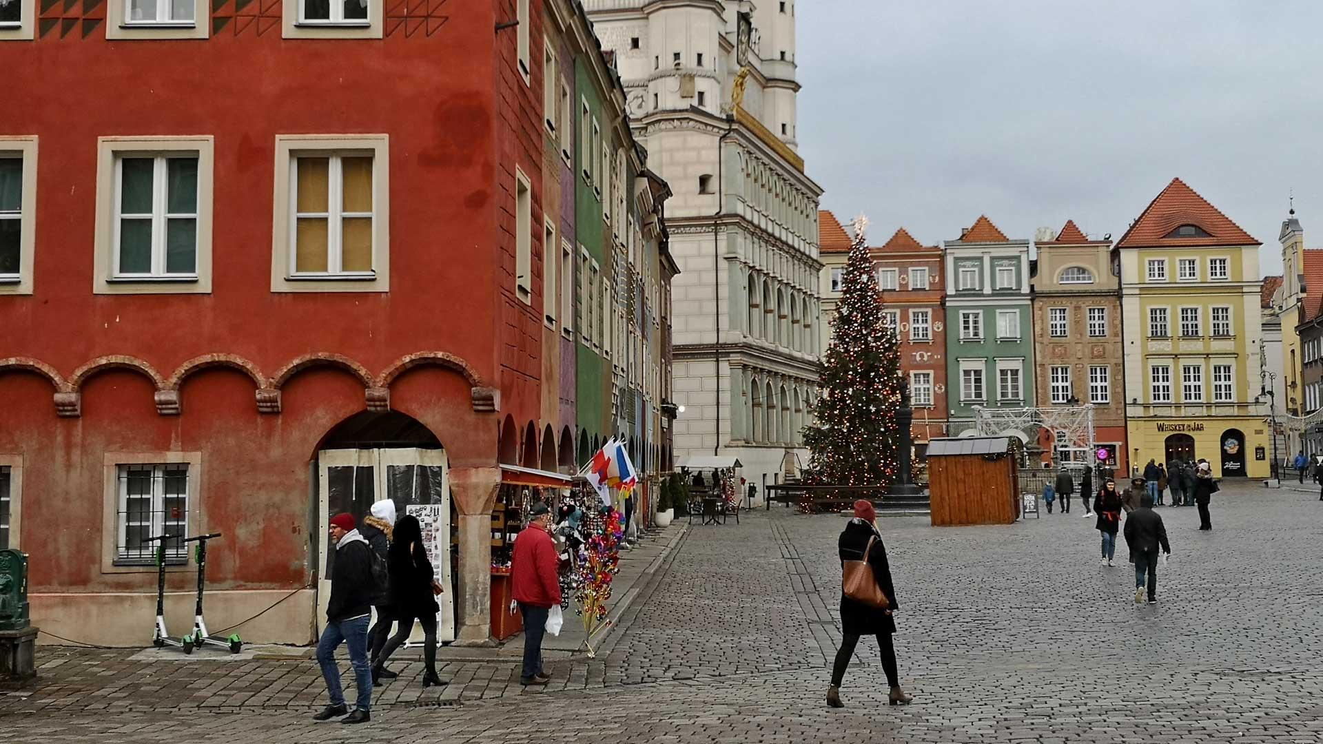 Der malerische Marktplatz von Posen