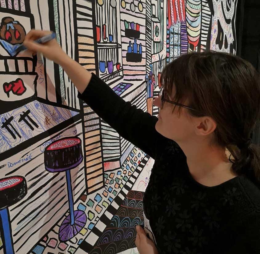 Interaktive Ausstellung im Manggha in Krakau