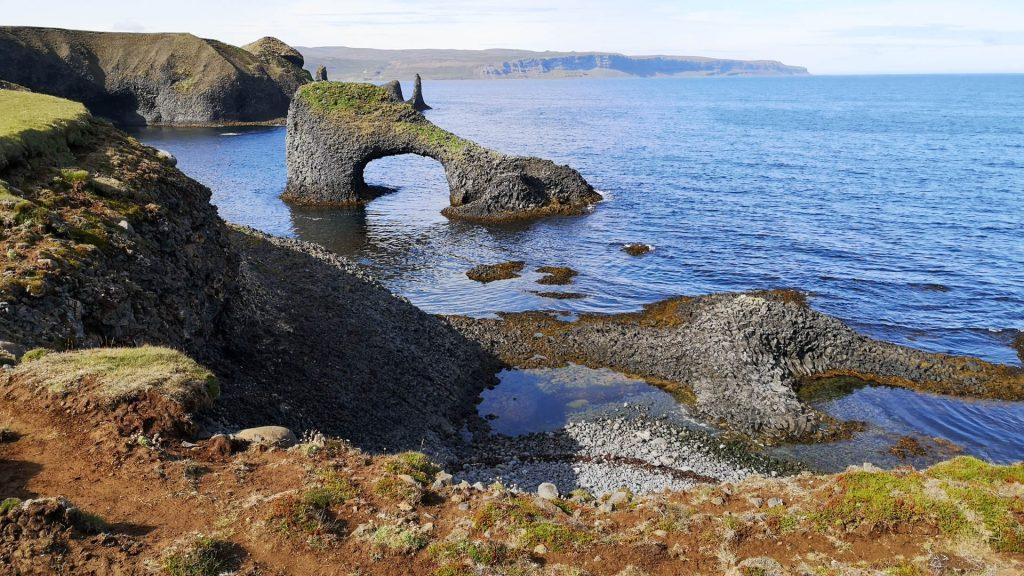 Rauðanes - ein beliebter Stopp am Arctic Coast Way