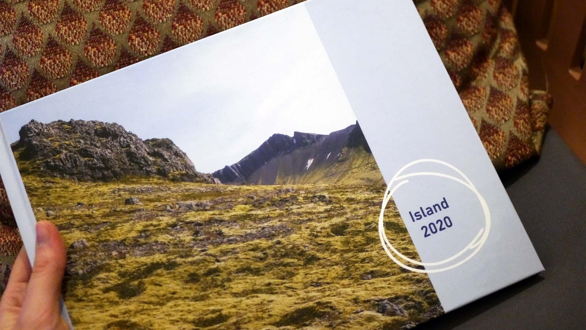 Eine schöne Erinnerung: Fotobuch mit den besten Island-Fotos