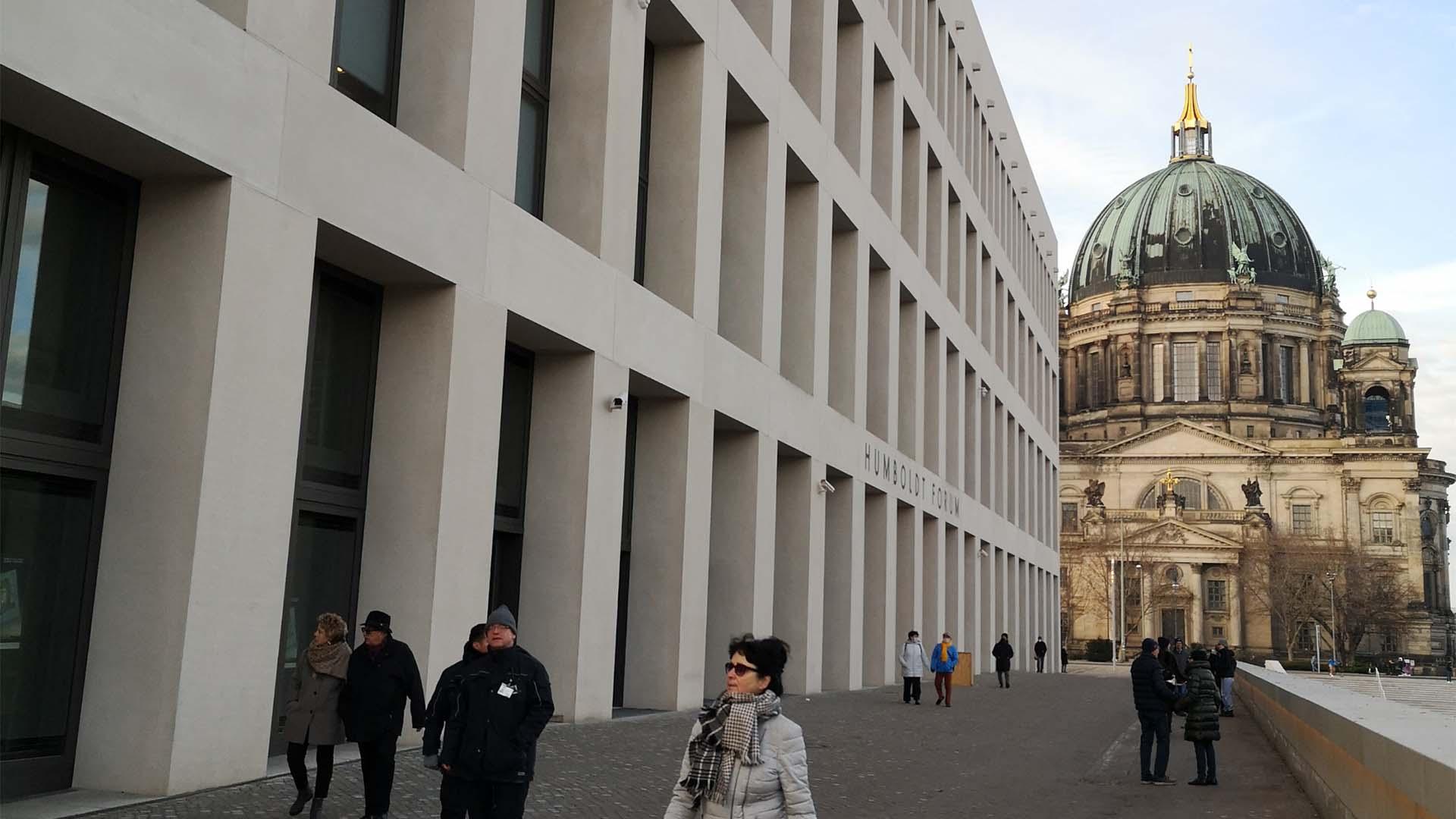Wurde vorerst nur virtuell eröffnet: Das Humboldt-Forum im Berliner Schloss