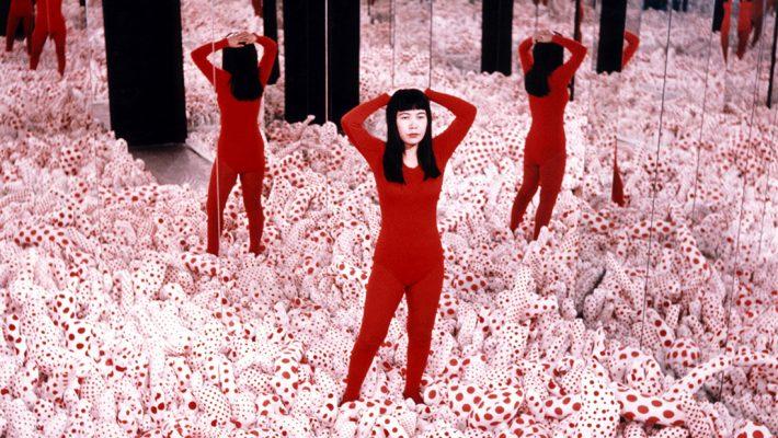 Yayoi Kusama, Infinity Mirror Room – Phalli's Field, 1965 Installation, Mixed Media YAYOI KUSAMA, Courtesy: Ota Fine Arts, Victoria Miro